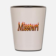 Missouri Flame Shot Glass