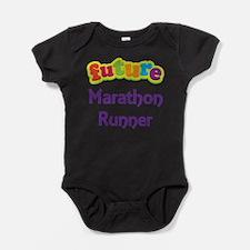 Cute Runner Baby Bodysuit