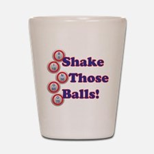 Bingo Shake Shot Glass