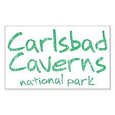 Carlsbad Caverns National Park (Graffiti) Decal