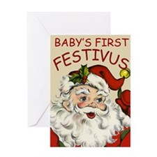 Baby's First Festivus Card