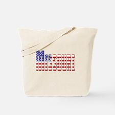 Patriotic Missouri Tote Bag