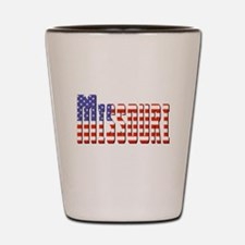 Patriotic Missouri Shot Glass