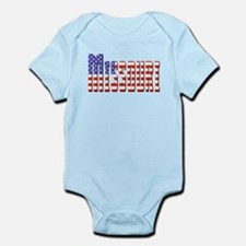 Patriotic Missouri Body Suit