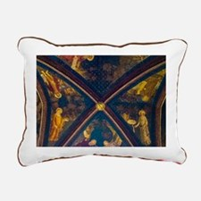 Palace Of The Popes Rectangular Canvas Pillow