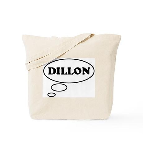 Thinking of DILLON Tote Bag