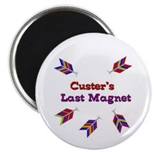 "Unique Custer's last stand 2.25"" Magnet (10 pack)"