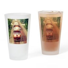 Railroading Drinking Glass