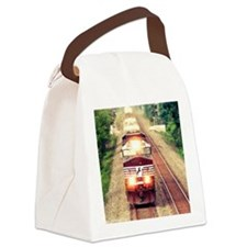Railroading Canvas Lunch Bag