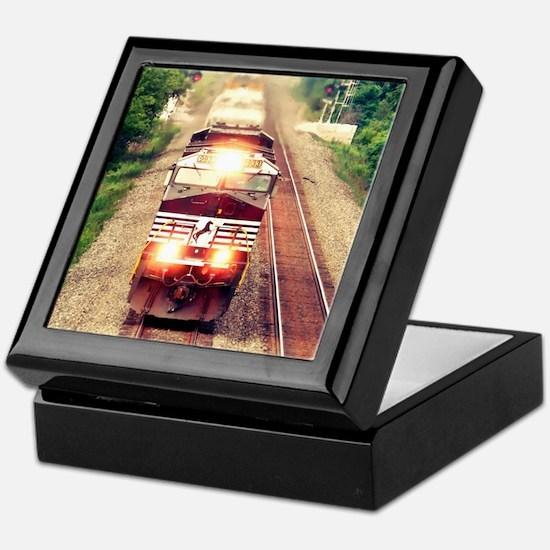 Railroading Keepsake Box