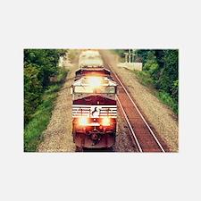 Railroading Rectangle Magnet