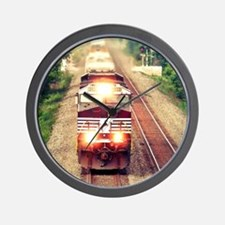 Railroading Wall Clock