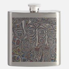 Berlin Wall Flask