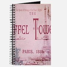 pink vintage eiffel tower paris chandelier Journal