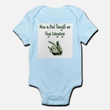 Cute I love jax teller Infant Bodysuit