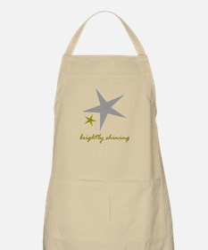Brightly Shining Apron