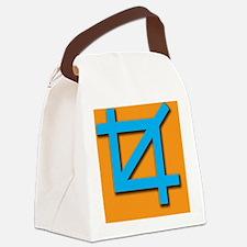 Crop Symbol Canvas Lunch Bag