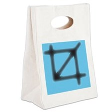 Crop Symbol Canvas Lunch Tote
