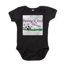 Cute Girls soccer team Baby Bodysuit