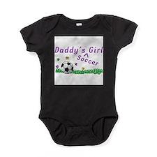 Unique Girls soccer team Baby Bodysuit