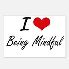 I Love Being Mindful Arti Postcards (Package of 8)