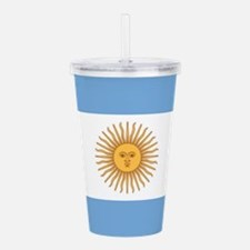 Argentinian pride arge Acrylic Double-wall Tumbler