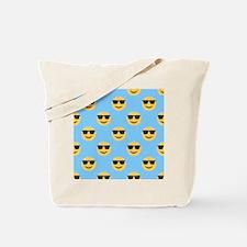 sunglasses emojis Tote Bag