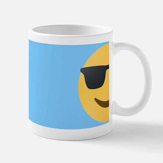 sunglasses emojis Mugs