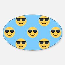 sunglasses emojis Decal