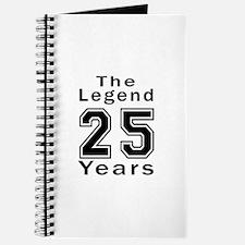 25 Legend Birthday Designs Journal