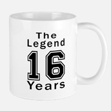 16 Legend Birthday Designs Small Small Mug