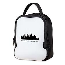 Minneapolis Skyline Neoprene Lunch Bag