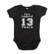 13 Legend Birthday Designs Baby Bodysuit