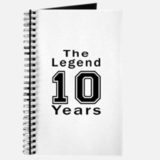 10 Legend Birthday Designs Journal