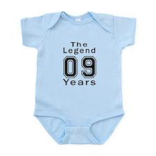 09 Legend Birthday Designs Onesie
