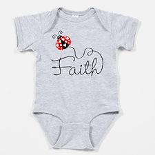 Ladybug Faith Baby Bodysuit