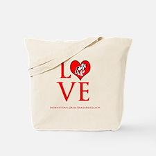 Drum Horse Love Tote Bag
