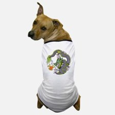Colorful Chinese Dragon Circle Totem Dog T-Shirt