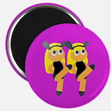 blonde twin emoji Magnets