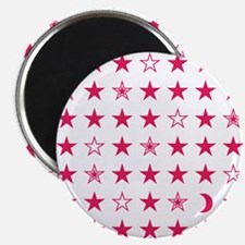 Pink Stars Magnet