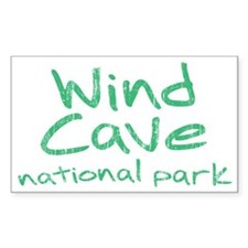 Wind Cave National Park (Graffiti) Decal