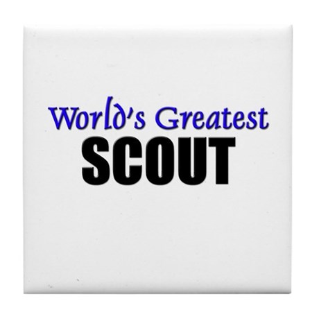 Worlds Greatest SCOUT Tile Coaster