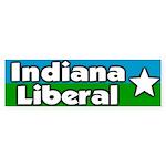 Indiana Liberal Bumper Sticker