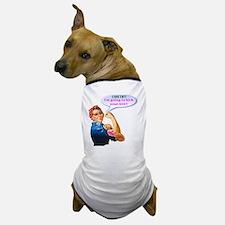 Rosie Fighting Cancer Design Dog T-Shirt