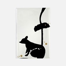 Year of the Rat - Chinese Zodiac Rectangle Magnet