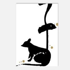 Year of the Rat - Chinese Postcards (Package of 8)