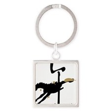 Year of the Horse- Chinese Zodiac Square Keychain