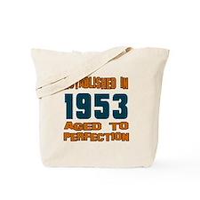 Established In 1953 Tote Bag