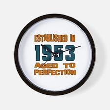 Established In 1953 Wall Clock