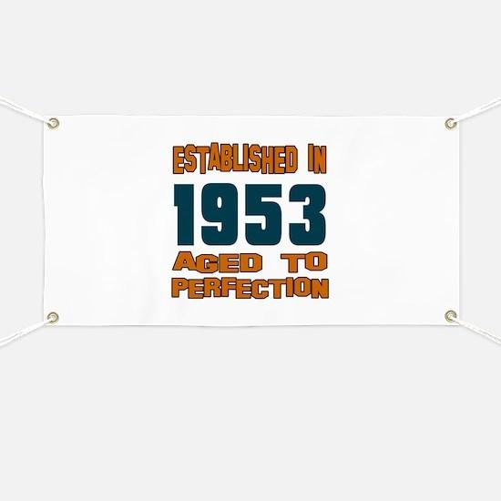 Established In 1953 Banner